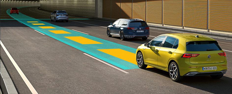 Za vas ohranja smer vožnje, druge pa na primerni razdalji.
