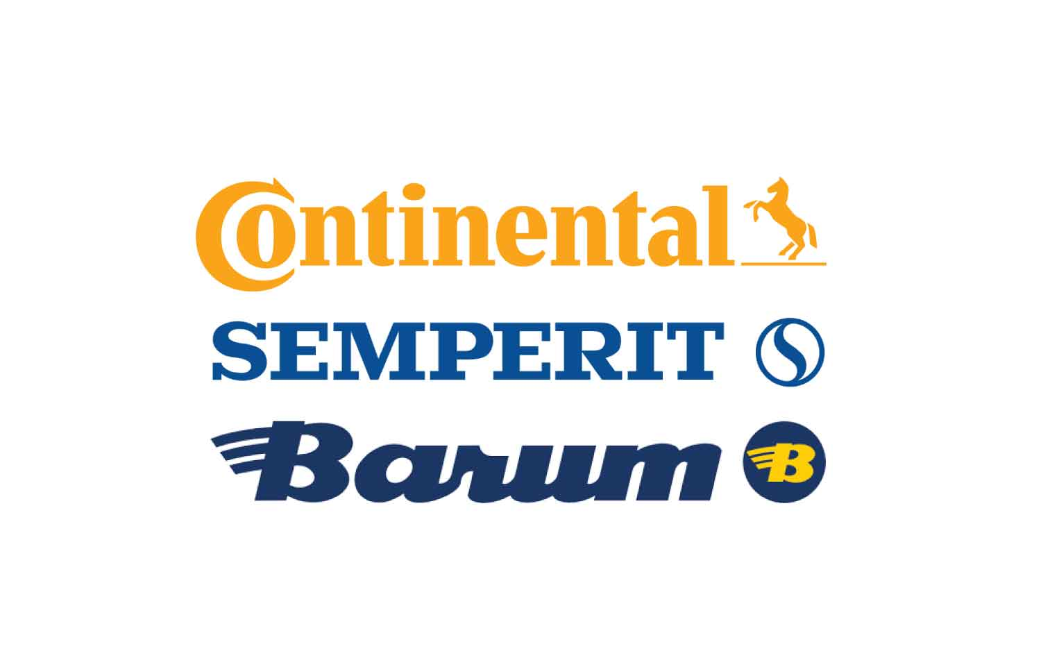 Pnevmatike Continental, Semperit in Barum
