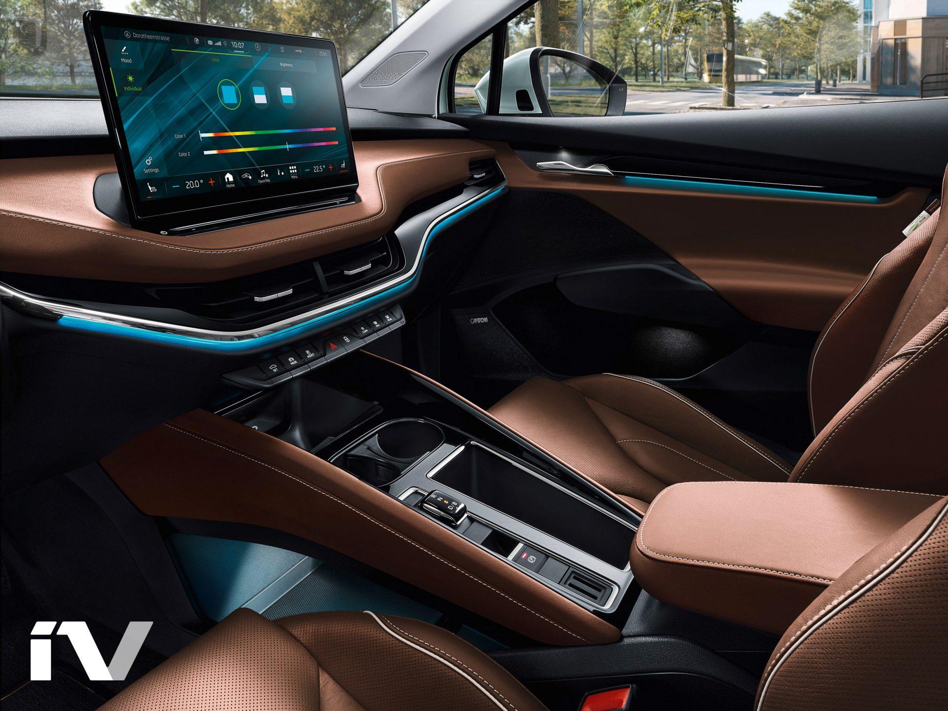 Nov koncept notranjosti vozila
