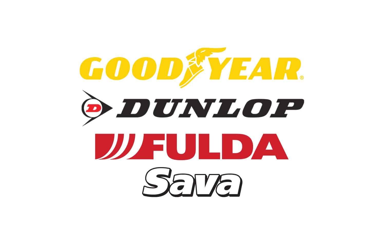 Pnevmatike Goodyear, Dunlop, Fulda in Sava