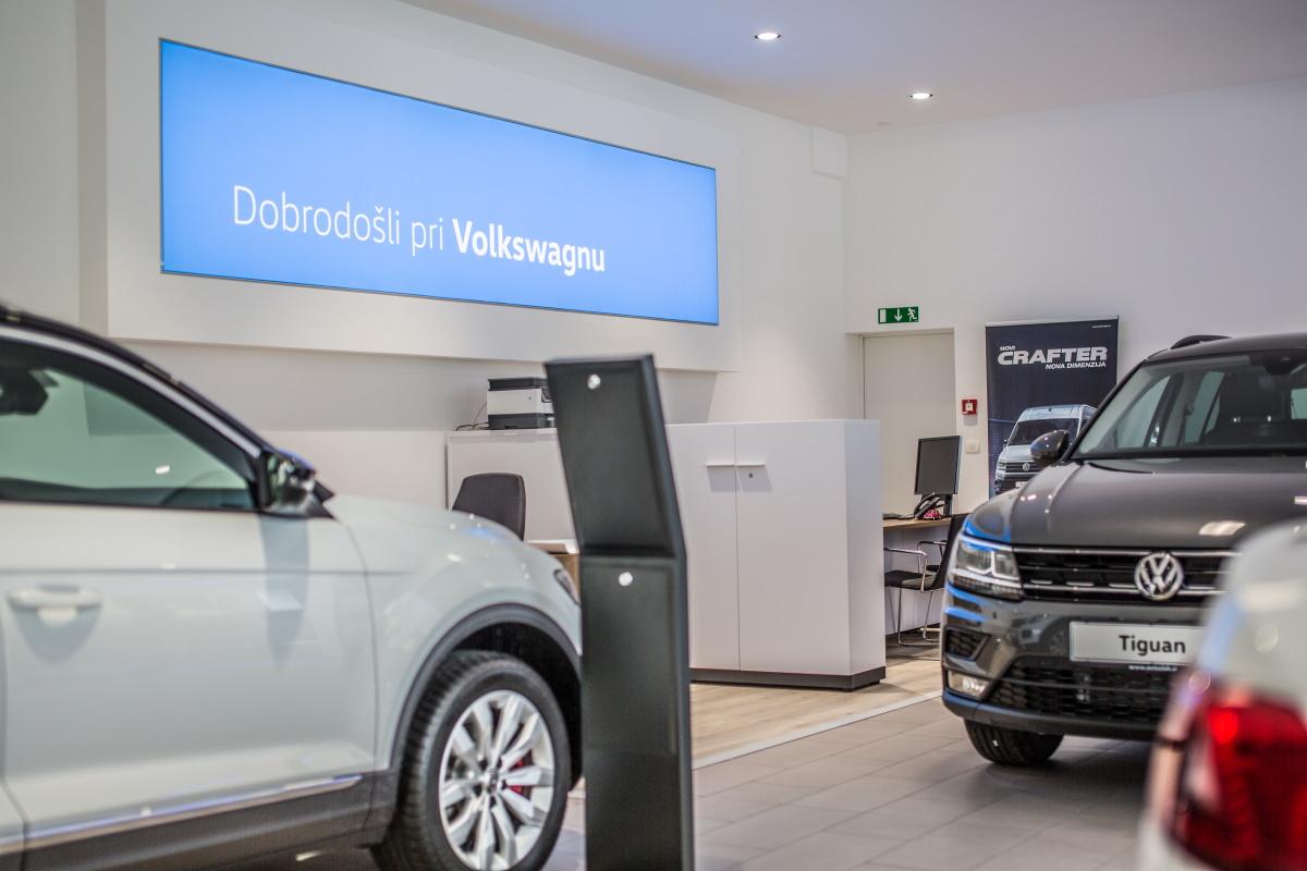 Volkswagen odslej tudi pri Avto Slaku v Novem mestu