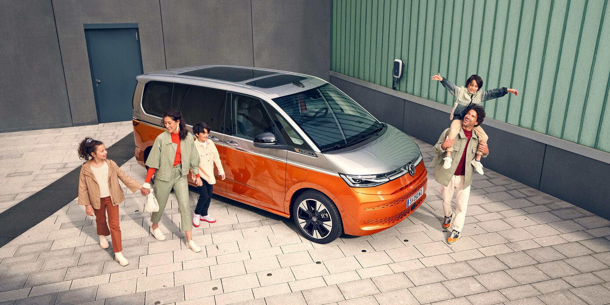 Novi Multivan – Ko vsestransko vozilo postane pionir